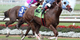 Bucchero, Jersey Justice, Bibbidibobbidi Boo and Peyton's Pass Win $100K Indiana-bred Stakes at Indiana Grand