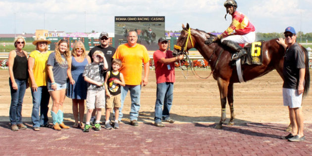 New Owners Experience First Win with AJ Pacer at Indiana Grand