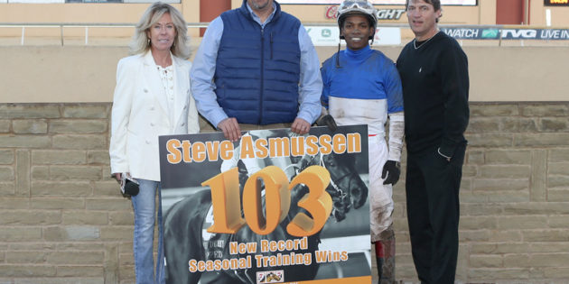Cabrera, Asmussen, Caldwell Win Titles at Remington Park