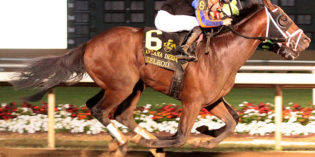Axelrod Wins Indiana Derby, New Record Set for Handle