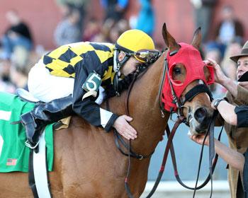 Mathews, Howard Hit Equine Lottery with Texas-bred Ivan Fallunovalot