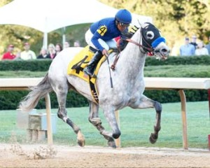 Cupid wins the Rebel Stakes (Photo by Coady Photography)