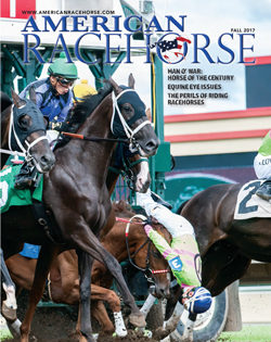 Newest Issue of American Racehorse Now Online Featuring Man o' War, the Perils of Riding Racehorses and More