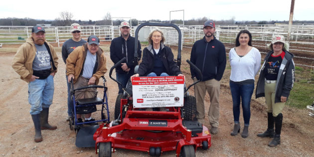 Oklahoma's Horse and Hound, Kentucky's New Vocations Awarded Toro and Exmark Mower Usage for 2019