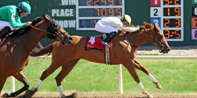 Trainer Scott Young Sweeps Cinema Handicap Exacta at Will Rogers with JS Pearljam, Hey Baby
