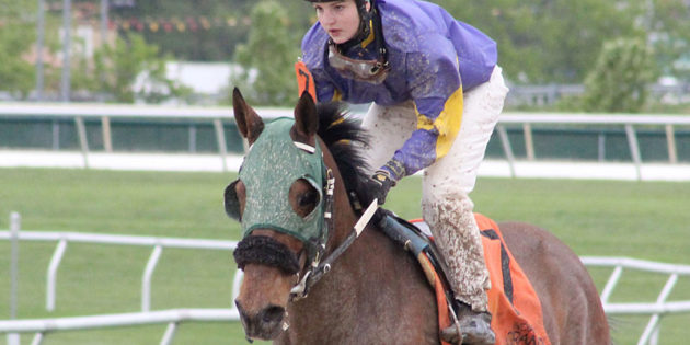 Apprentice Katie Clawson in Contention as Top Jockey at Indiana Grand