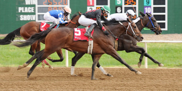 Makin the Dough Gets the Cash in Will Rogers Handicap