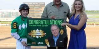 Mike Lauer scores 1,000th career training victory at Indiana Grand