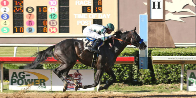 Mor Spirit Becomes a Millionaire with Steve Sexton Mile Victory at Lone Star, Texas Chrome Takes Second