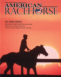 Newest Issue of American Racehorse Features Articles on Toby Keith, C.J. McMahon and More