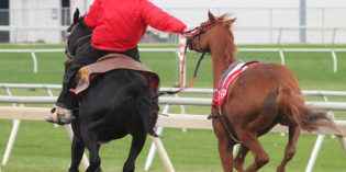 Outriders Provide Safety During Races at Indiana Grand