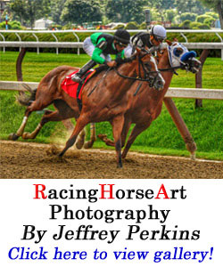 RacingHorseArt by Jeffery Perkins
