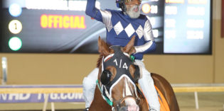 65-Year-Old Jockey B.L. Goff Goes 17 Years Between Thoroughbred Wins at Remington Park
