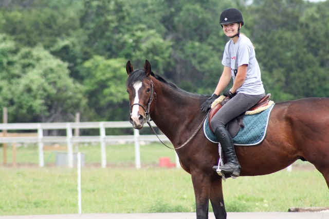 Madison Scott with her horse, Mad for Smarty. (Photo courtesy University of Kentucky)
