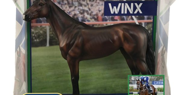 Winx, the world's highest-earning Thoroughbred, joins Breyer stable
