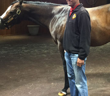 "Local Firefighter ""Aims"" High on Super Derby Day at Louisiana Downs"