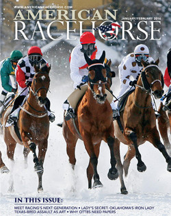 Newest Issue of American Racehorse Features Lady's Secret, Triple Crown Winner Assault
