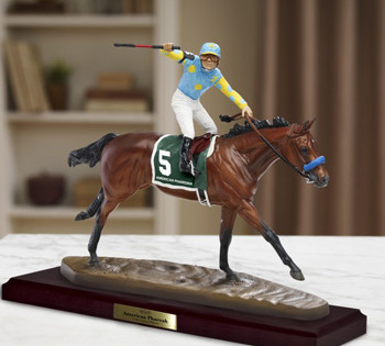Breyer Announces Release of American Pharoah Scuplture