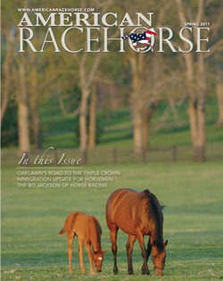 Newest Issue of American Racehorse Now Online with Articles about Oaklawn's Triple Crown Preps