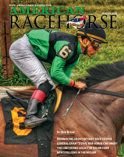 Latest Issue of American Racehorse Now Online Featuring Detroit Race Course, a Civil War Thoroughbred Hero and More
